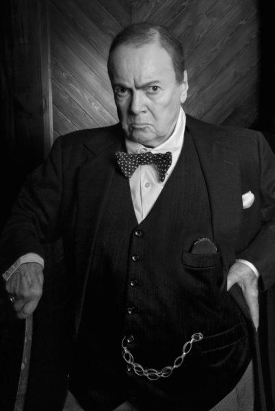 Vlasta Chramostová jako Churchill