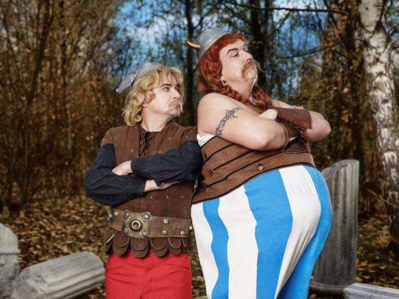 Michal Suchánek a Richard Genzer jako Asterix a Obelix