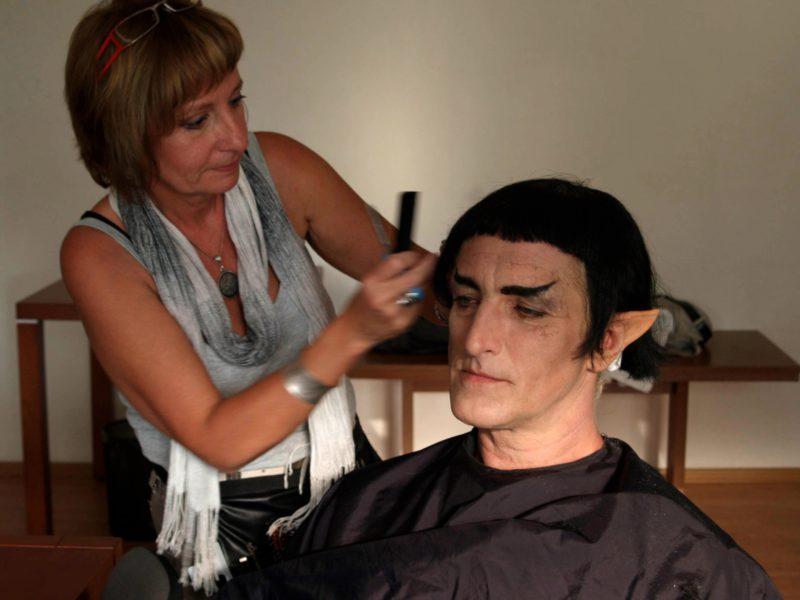 Hanák jako Spock