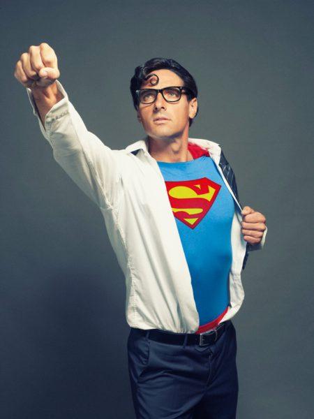 Šeberle jako Superman