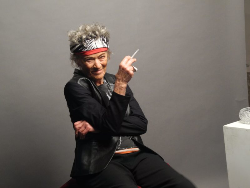 Luba Skořepová jako Keith Richards