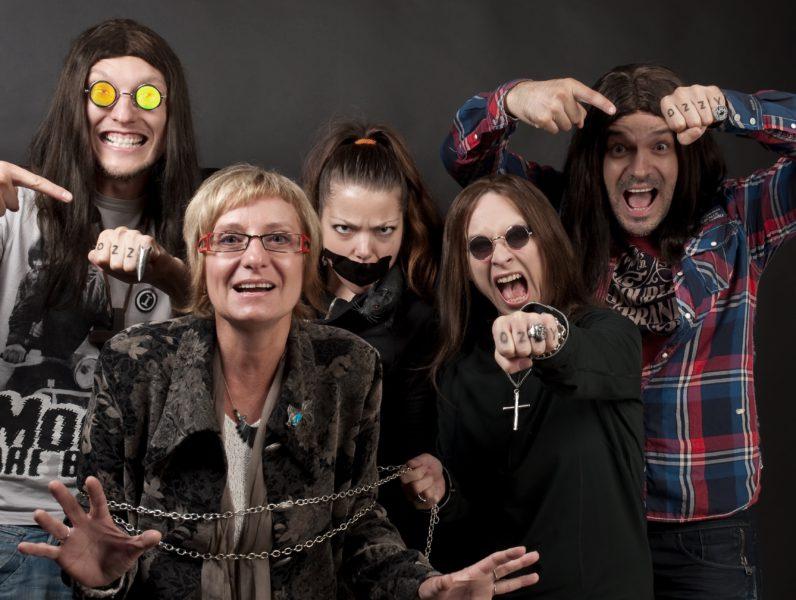 Batulková jako Ozzy Osbourne