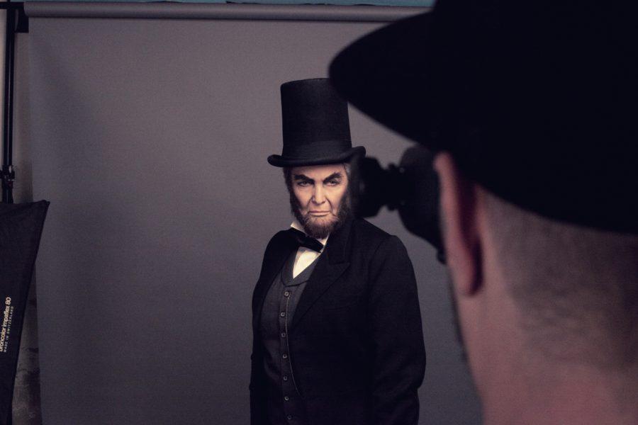 Regina Rázlová jako Abraham Lincoln