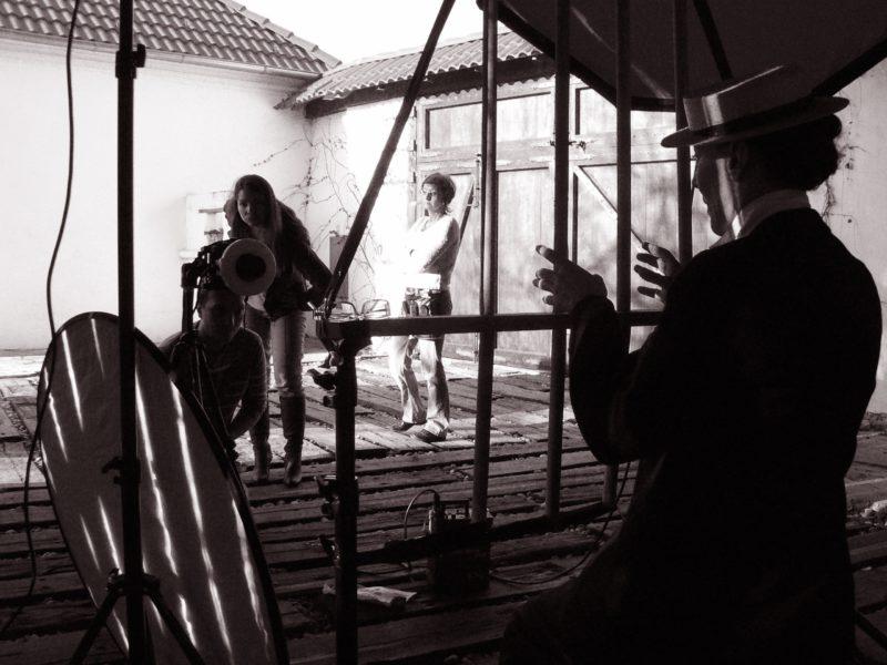 Szidi Tobias jako Buster Keaton