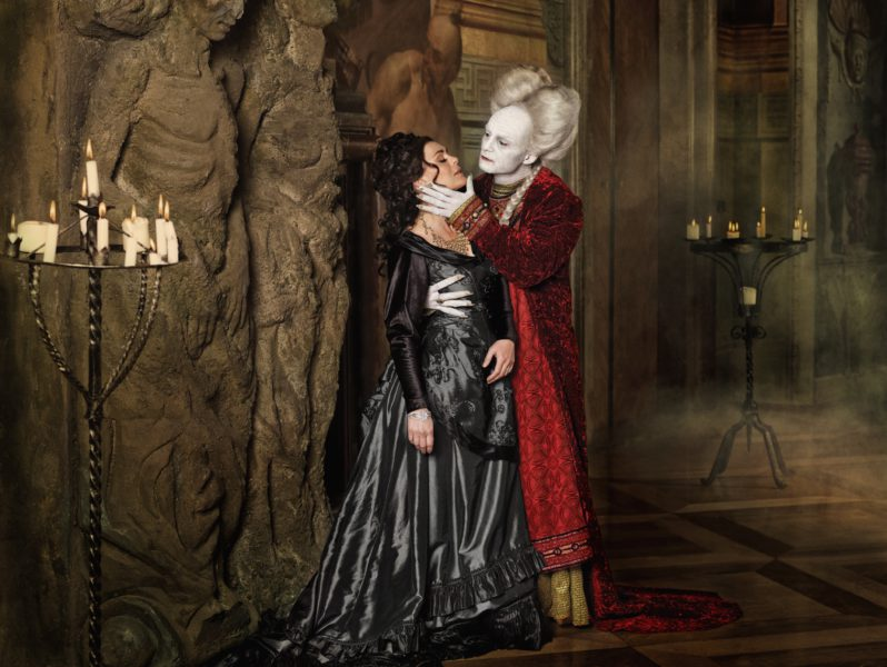 Ivan a Klára Trojanovi jako Hrabě Drákula a Mína