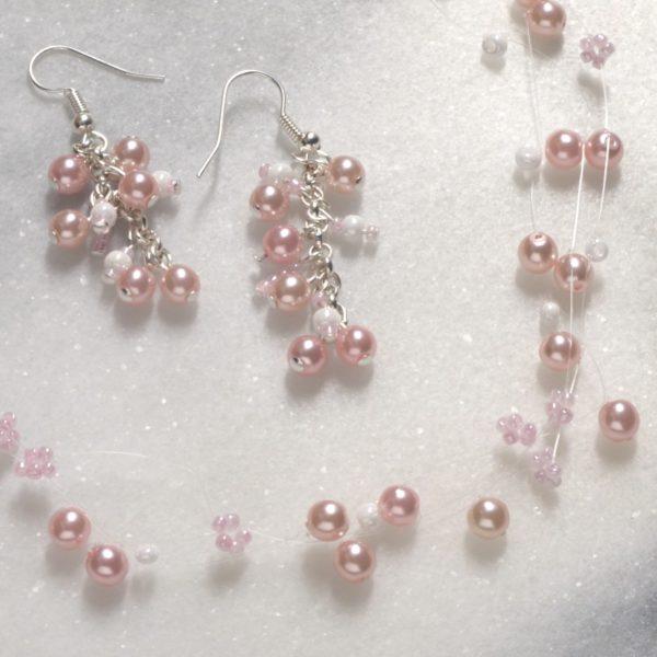 Bižuterie - náušnice a náhrdelník