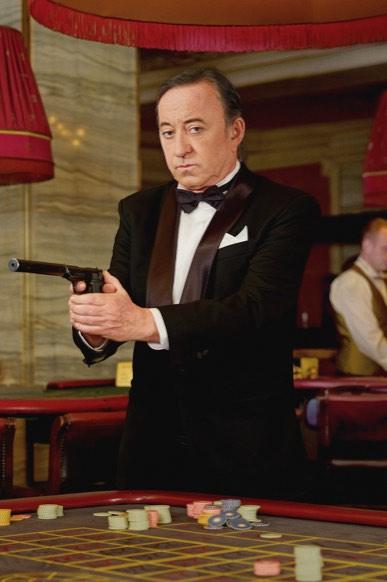 Lábus jako James Bond