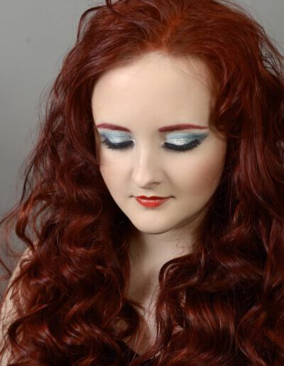 make-up na večírek Malá mořská víla